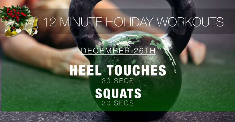 Boxing Day Workout