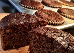 Chocolate Orange Muffins - Grain/Dairy free